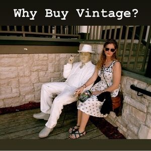 Why Buy Vintage, Secondhand, or Thrifted Items?